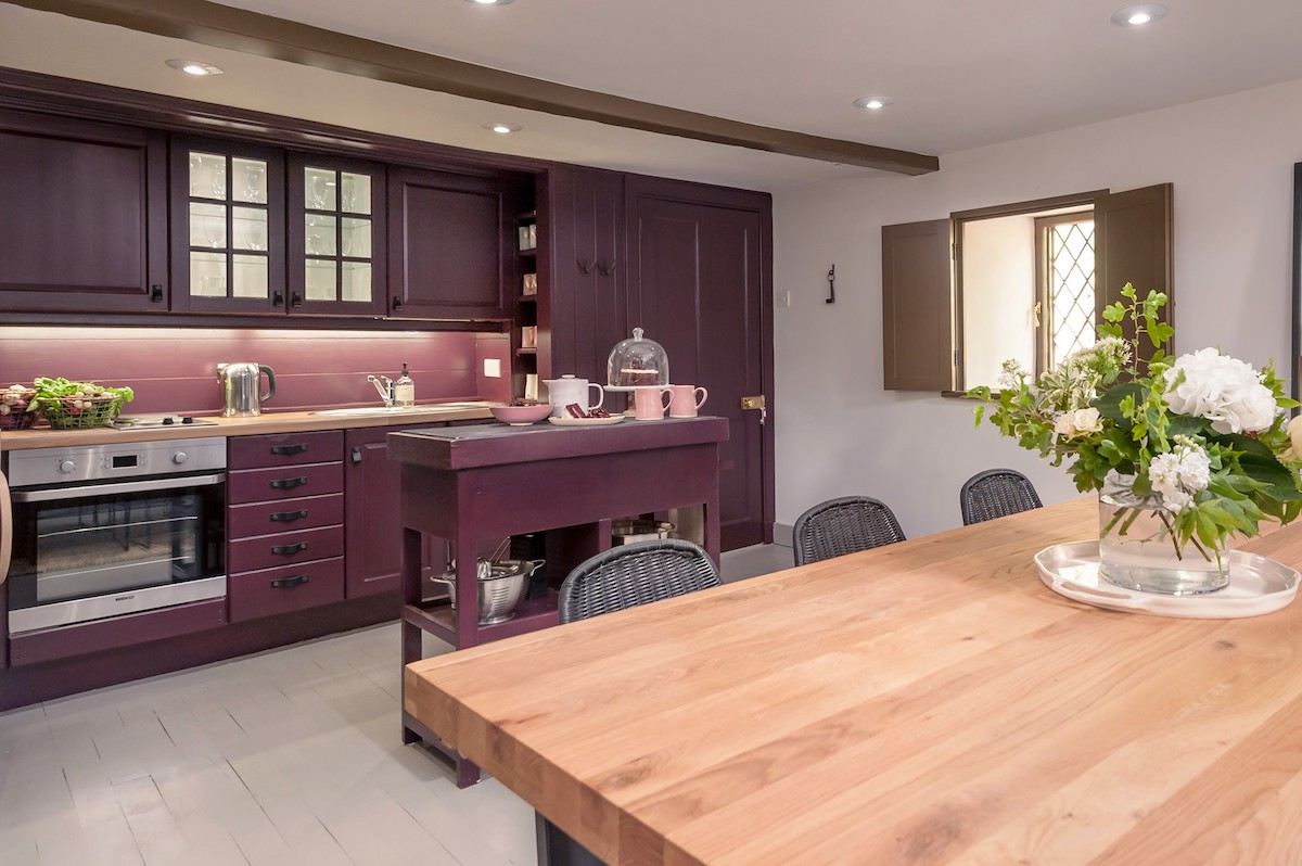 Modern rustic holiday cottage for two Scottish Borders