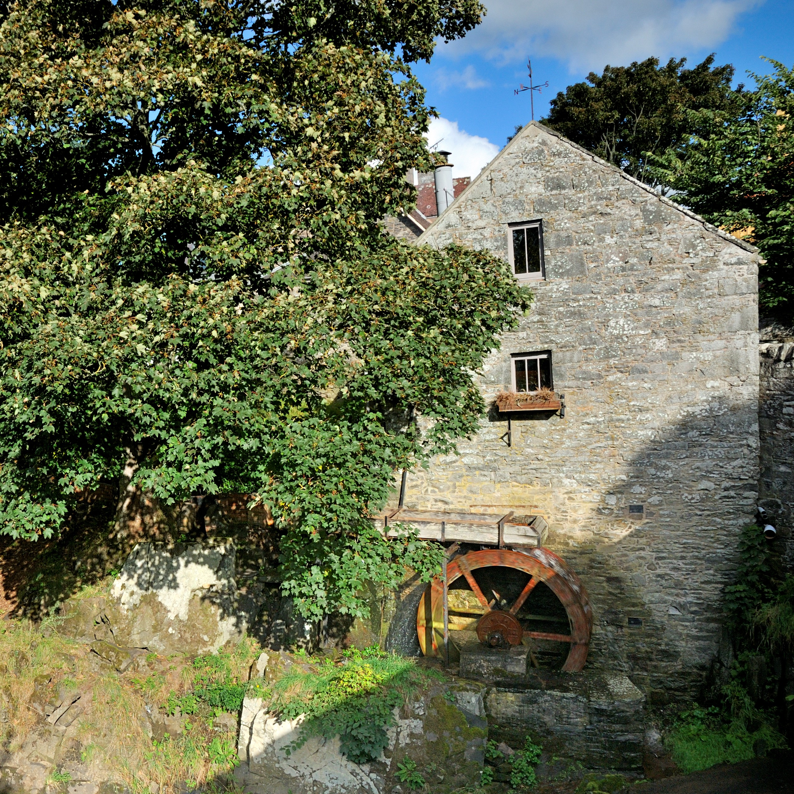 Old Dod Mill near Lauder