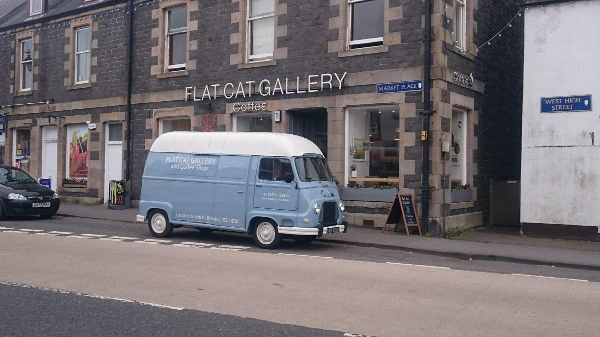Flat Cat Gallery in Lauder
