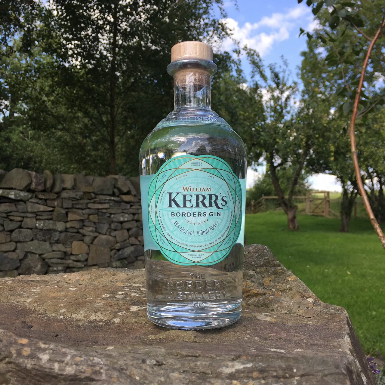 William Kerr's craft gin from Borders Distillery