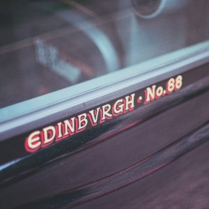 Edinburgh black cab