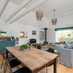 Modern rustic styling at The Bothy at Dod Mill