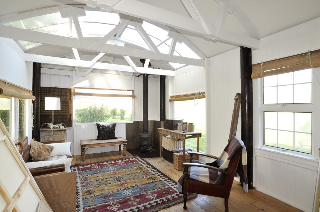 Interiors of Stilt House