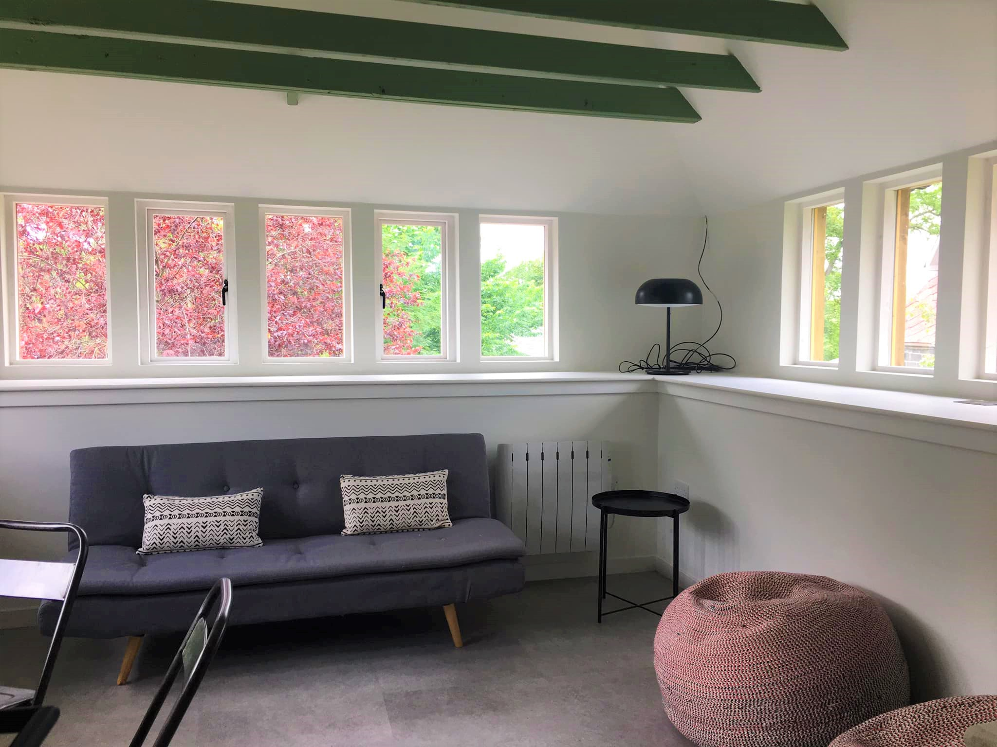 Kiln House is the chill-out and break space at our Yoga Retreats