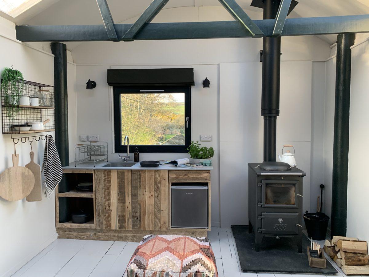 treehouse cabin scottish borders